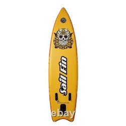 106 Inflatable Stand-Up Paddle Board ISUP Sail Fin BAIKAL