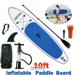 10FT/10.5FT Inflatable Stand Up Paddle Board ISUP Surfboard with complete kit