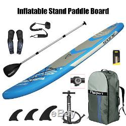 10FT Inflatable SUP Paddle Board Stand Up Paddleboard Kayak 6 Thick Hydro Force