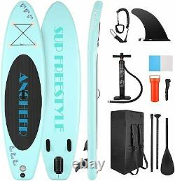 10FT Inflatable Stand Up Paddle Board Premium Accessories & Carry BagLoad 150kg
