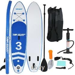 10FT Inflatable Stand Up Paddle Board SUP Surfboard With complete kit Large size