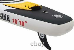10'10 Magma BT-17MA Drop Stitch Inflatable Stand Up Paddle Board SUP iSUP
