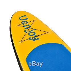 10' /11' Adjustable Fin Paddle Inflatable SUP Stand up Paddle Board Surfboard