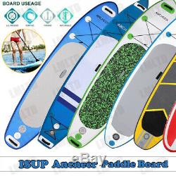 10'/11' Inflatable Stand Up Paddle Board SUP Surfboard Carbon Adjustable Leash