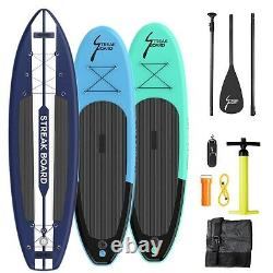 10/11' Inflatable Stand Up Paddle Board SUP Surfboard with Complete Kit Non-slip