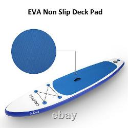 10-11ft 6'' Thick Complete Kit Surfboard Inflatable Stand Up PaddleBoard Multi