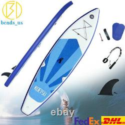 10-16ft Inflatable Paddle Board SUP Stand Up Paddleboard Accessories Bag Set PVC