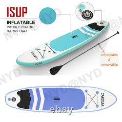 10.5/10ft Inflatable Stand Up Paddle Board Surfboard Non-Slip with complete kit