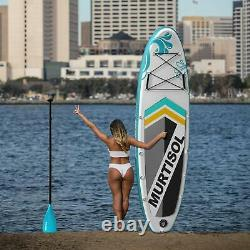 10.5'336 Inflatable Paddle Board Stand Up Paddle Board Premium Accessories Pro
