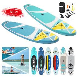 10.5' Inflatable Stand Up Paddle Board SUP Surfboard Non-Slip & Complete kit Hot