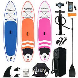 10.5 Inflatable Stand Up Paddle Board SUP Surfboard with complete kit 6'' thick