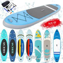 10.5ft Inflatable Stand Up Paddle Board ISUP Surfboard Non-Slip Complete Set US