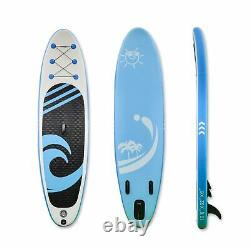 10'6 SUP Inflatable Paddle Board Stand UP Surfboard Surf Paddleboard Kayak Gift