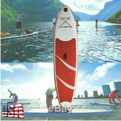 10' Inflatable SUP Stand Up Paddle Board Package, with Paddle US STOCK