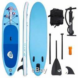 10' Inflatable Stand Up Paddle Board Cruiser 6 Thickness iSUP Package with3 Fins