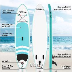 10' Inflatable Stand Up Paddle Board SUP Surfboard Anti-Slip with complete kit
