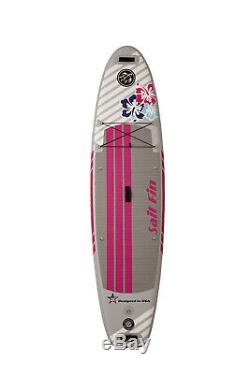 10' Inflatable Stand Up Paddle Board SUP Surfboard High Quality Reinforced