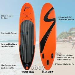 10' Inflatable Stand Up Paddle Board SUP Surfboard Non-slip Deck + complete kit