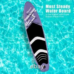 10' Inflatable Stand-Up Paddle Board SUP Surfboard with complete kit 6'' thick