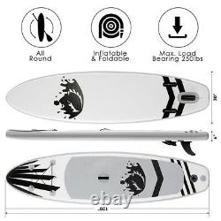 10'Inflatable Stand Up Paddle Board Surfboard SUP Paddelboard complete b 01