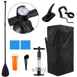 10' Inflatable Stand Up Paddle Board Surfboard SUP withFin+Complete Kit+Bag NEW US