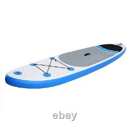 10' Inflatable Stand Up Paddle Board Surfboard iSUP Paddelboard withComplete kit 0