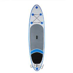 10' Inflatable Stand Up Paddle Board Surfboard iSUP withFin+Complete Kit+Bag+Pump