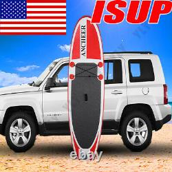 10 Inflatable Stand Up Paddle Boards Surfboard SUP withFin+Pump+Complete Kit+Bag/