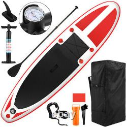10' Inflatable Stand Up Paddle Boards Surfboard SUP withFin+Pump+Complete Kit+Bag