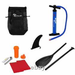 10 Inflatable Stand up Paddle Board Surfboard SUP With Bag Adjustable Fin Paddle