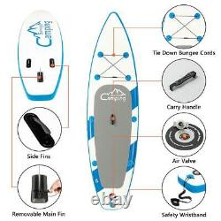 10' Streakboard Inflatable Stand Up Paddle Board SUP Surfboard with complete kit