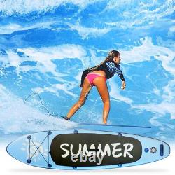 10ft 6inch Inflatable Paddle Board SUP Stand Up Paddleboard Surfboard
