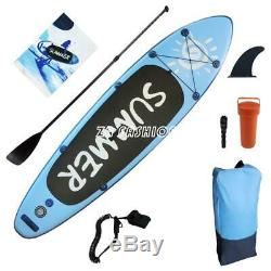 10ft Inflatable SUP Stand Up Paddle Board Adults Float Paddle Beach With Pump&Bag