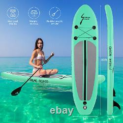 10ft Inflatable Stand Up Paddle Board SUP Non-slip Surfboard withComplete kit Pump