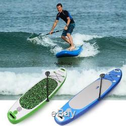 10ft Inflatable Stand Up Paddle Board iSUP with Adjustable WithPaddle
