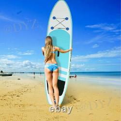 10ft Inflatable Stand Up Paddle Surfing Board SUP Surfboard with Pump Kit Gift