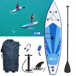 10ft SUP Board Inflatable Stand Up Paddle Surfboard with Accessories Youth&Adult