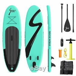 11Inflatable Non-slip Stand Up Paddle Board Surfing SUP Boards withBackpack Leash
