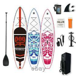 11'/10'6'' Inflatable Stand up paddle Board SUP Board ISUP with complete kit