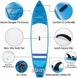 11'-10'Inflatable Stand Up Paddle Board Surfboard SUP Paddelboard complete Fit+q