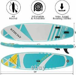 11'-10'Inflatable Stand Up Paddle Board Surfboard SUP Paddelboard complete Kit+`