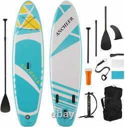 11'/10' Inflatable Stand Up Paddle Board Surfboard SUP Paddelboard complete Kit`