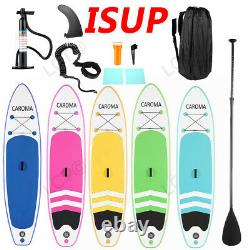 11-12ft 6'' Thick Complete Kit Surfboard Inflatable Stand Up Paddle Board USA