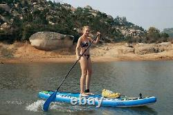 11' Blue Monkey Inflatable Stand Up Paddle Board SUP Surfboard Kit 6'' Thick