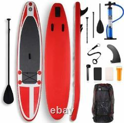 11 FT Inflatable Stand Up Paddle Board SUP Surfboard With Complete Kit & Bag