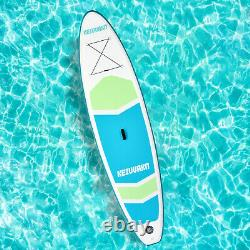 11' Inflatable Stand Up Paddle Board Adjustable Adult Youth Non-Slip with Pump