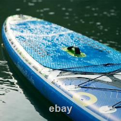 11' Inflatable Stand Up Paddle Board Adjustable Fin Paddle with complete kit