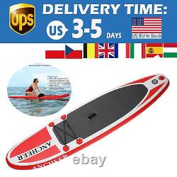 11' Inflatable Stand Up Paddle Board ISUP Non-Slip Deck With Pump Backpack Kits
