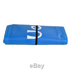 11' Inflatable Stand Up Paddle Board Non-Slip Deck Adjustable Paddle Blue