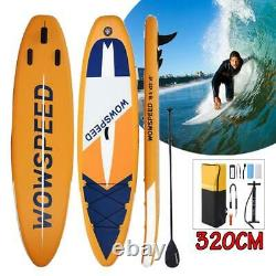 11' Inflatable Stand Up Paddle Board SUP Surfboard With Complete Kit 6'' Thick